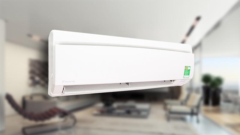 Điều hòa Daikin FTNE25MV1V9 sở hữu thiết kế khá đơn giản với những đường nét vuông vắn