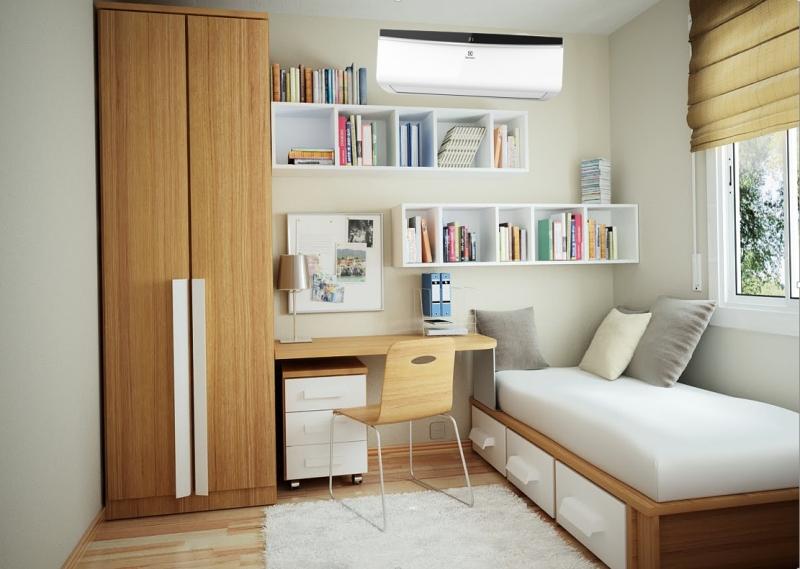 Chiếc máy điều hòa này sẽ rất phù hợp với những căn phòng có diện tích vừa và nhỏ như phòng học, phòng ngủ hay phòng làm việc cá nhân