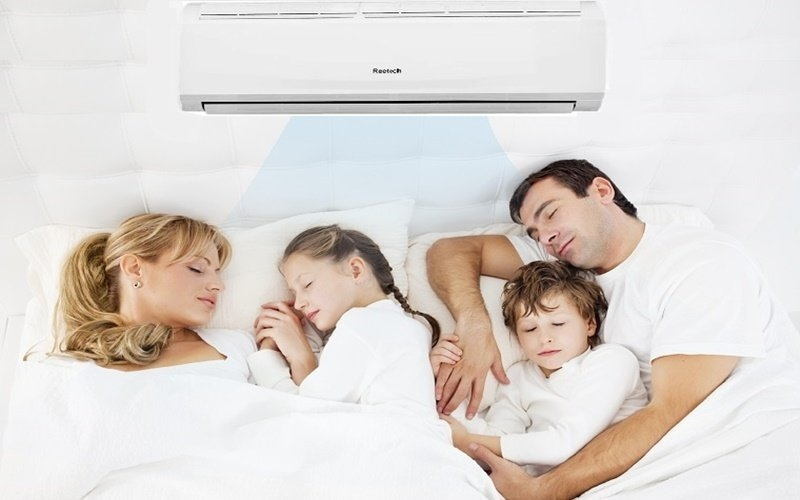 Điều hòa Reetech Inverter 1 HP RTV9-BF-A cho cả nhà giấc ngủ sâu mát lạnh