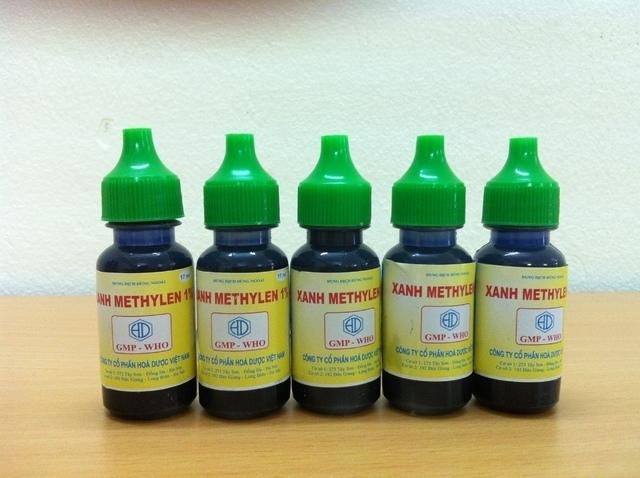 Dung dịch xanh metilen