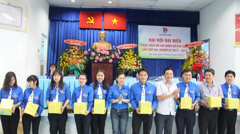 Đại hội đại biểu đoàn thanh niên xã Phú Xuân