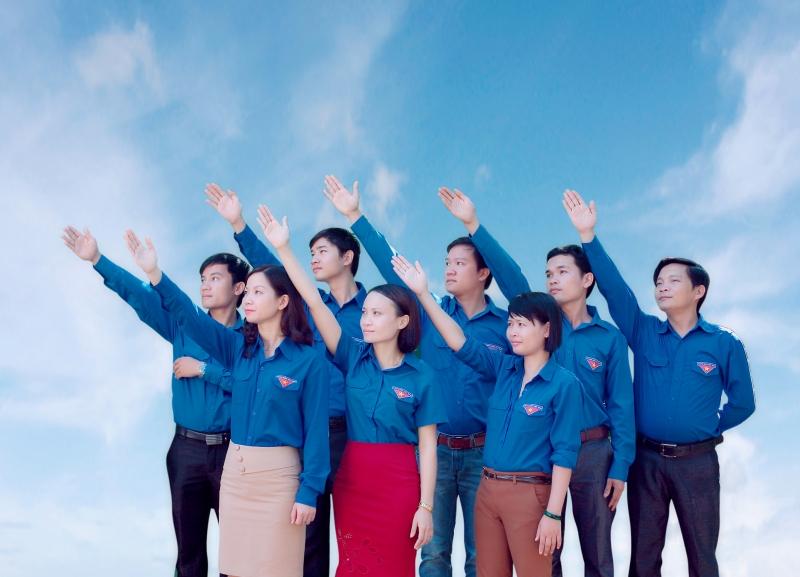 Một chi đoàn thanh niên Việt Nam
