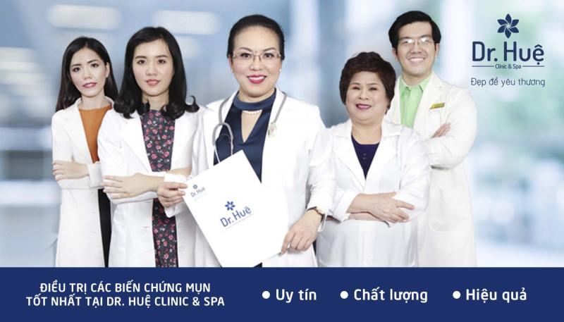 Trung tâm điều trị mụn Dr Huệ