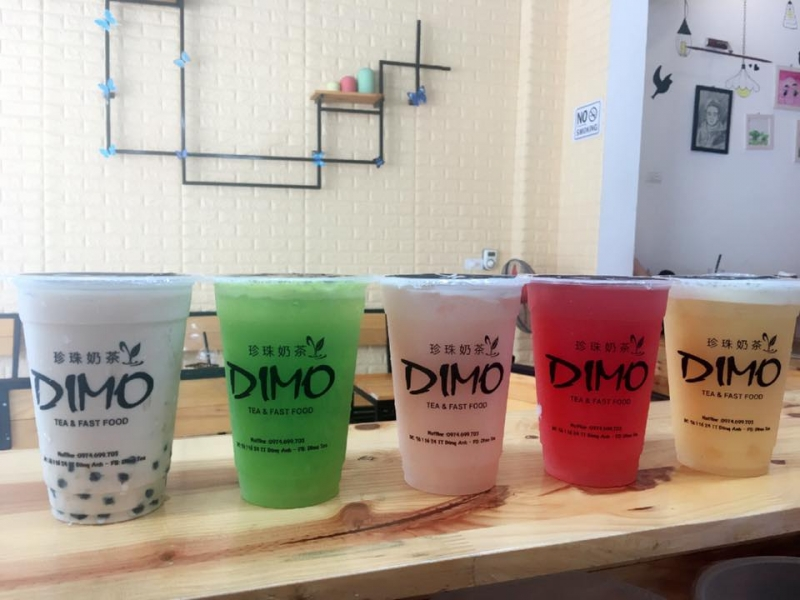 Đồ uống của Dimo Tea