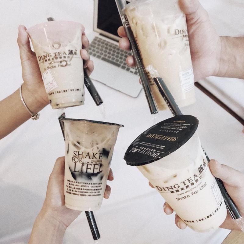 Trà sữa Ding Tea, lựa chọ hàng đàu của học sinh, sinh viên