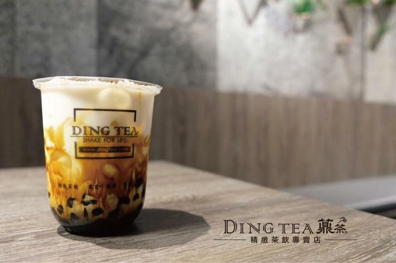 Sữa tươi trân châu đường đen DingTea
