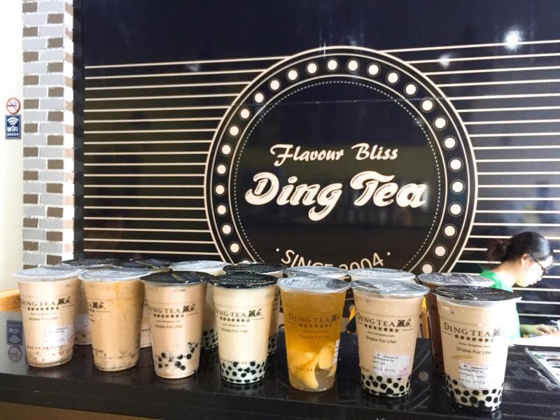 Ding Tea Uông Bí