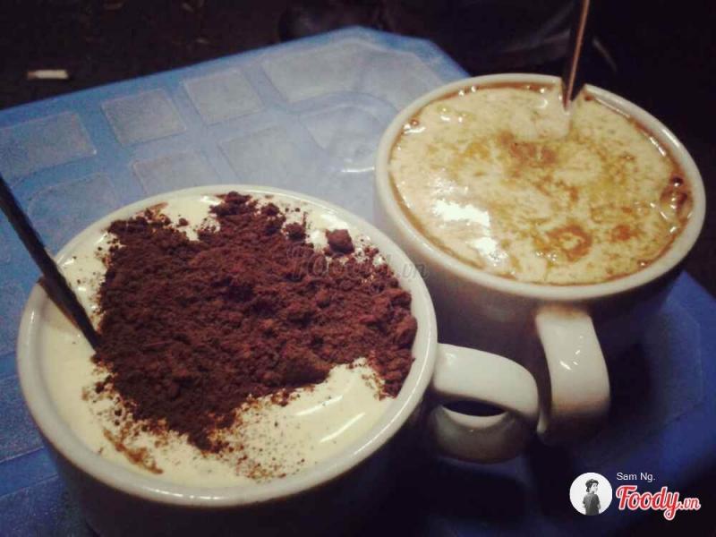 Bộ đôi cafe trứng - cacao trứng