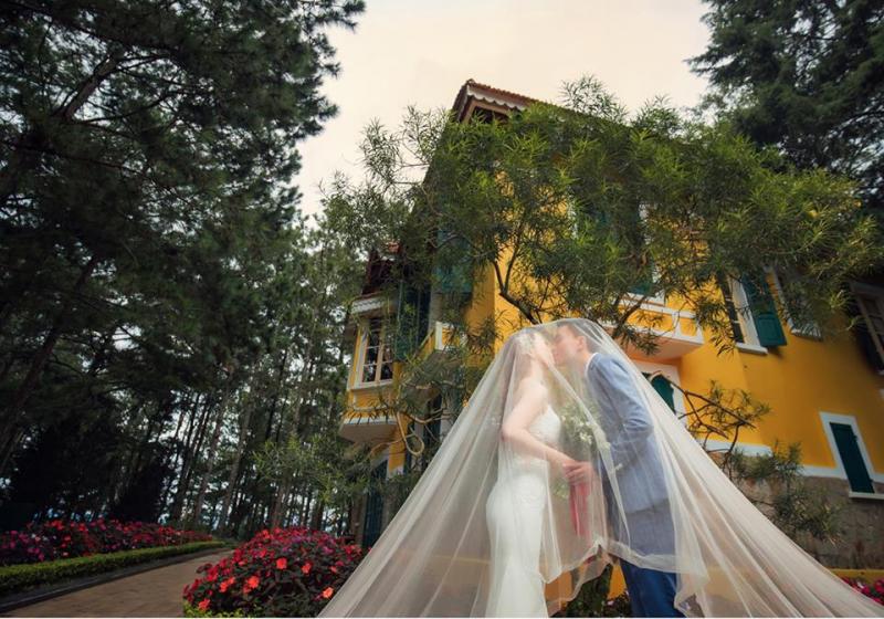 Ảnh cưới tại Dinh 1 Bảo Đại Đà Lạt