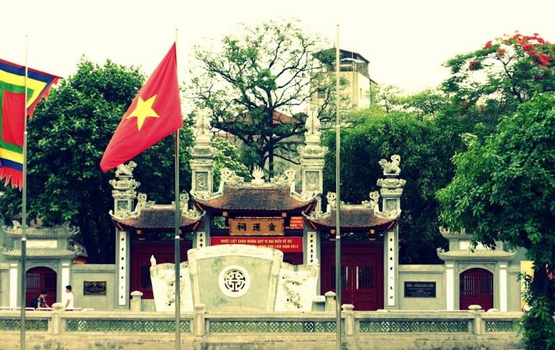 Đình/ Đền Kim Liên - Trần Nam Hoàng thành Thăng Long