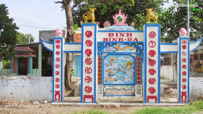 Đình làng Bình Ba