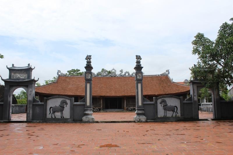 Di tích cấp Quốc gia Đình Trà Cổ - Móng Cái