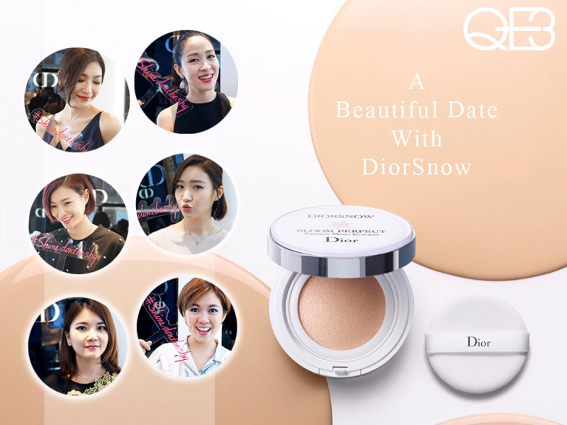 Phấn nước DiorSnow Bloom Perfect Brightening Perfect Moist Cushion
