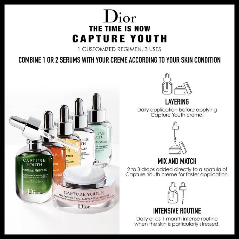 Kem Dưỡng Chống Lão Hóa Cao Cấp Dior Capture Youth Age-Delay Progressive Peeling Crème