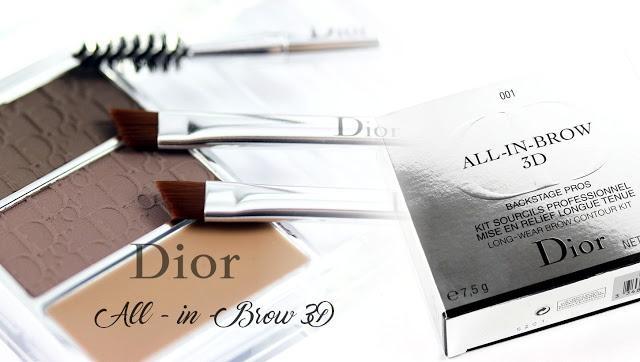 Dior All In Brow 3D – đũa thần cho đôi lông mày