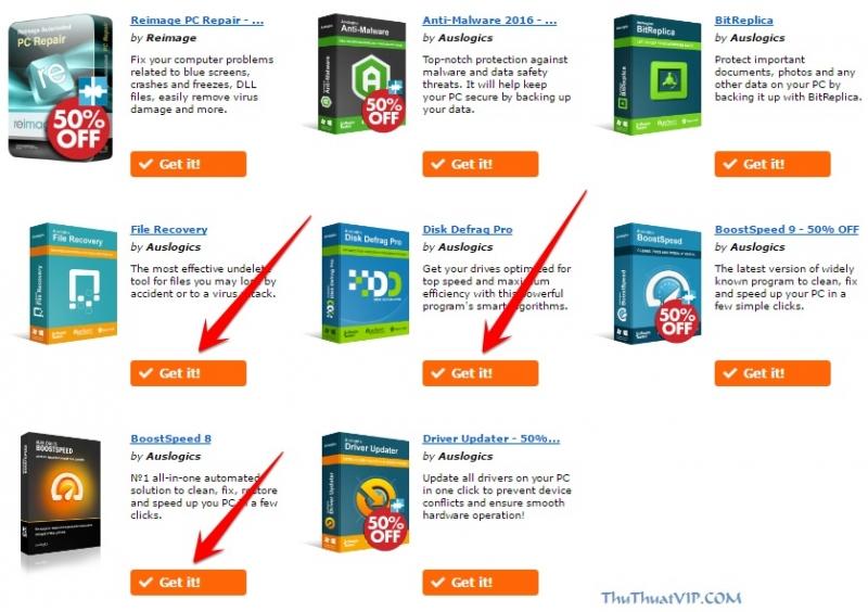 Disk Defragmenter (tính năng có sẵn trong Windows) Sử dụng 4 thuật toán tối ưu