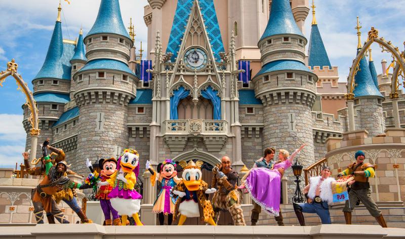 Công viên Disney's Magic Kingdom (Mỹ)