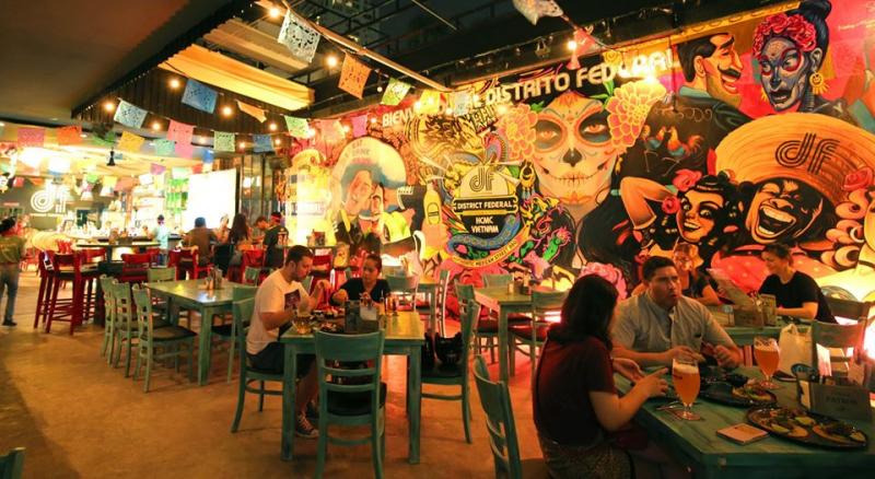 District Federal burrito