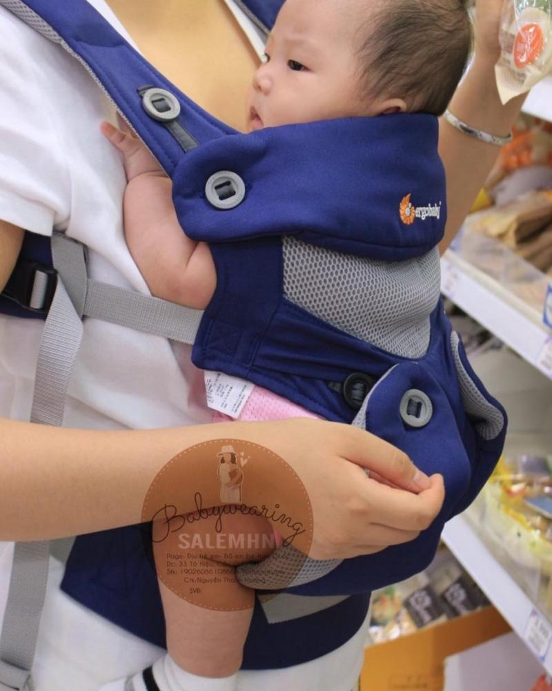 Địu trẻ em - Đồ em bé Hàn Quốc
