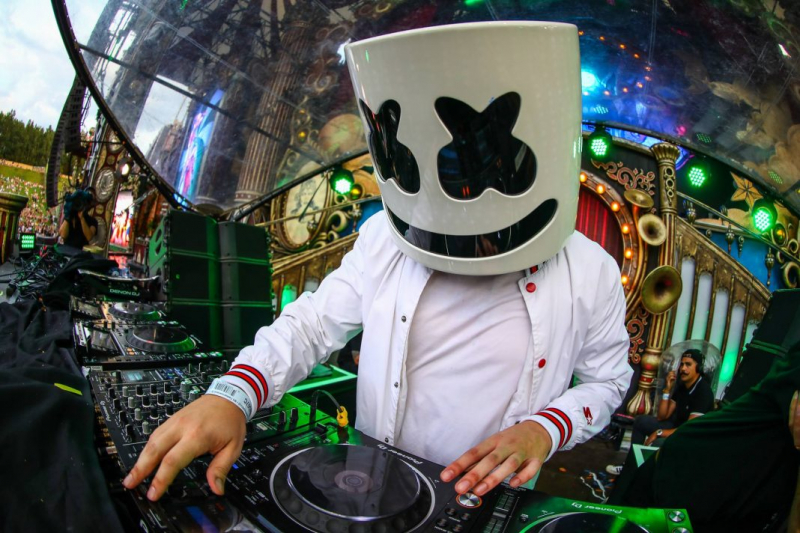Marshmello - No.10 Top 100 DJs - DJ Mag