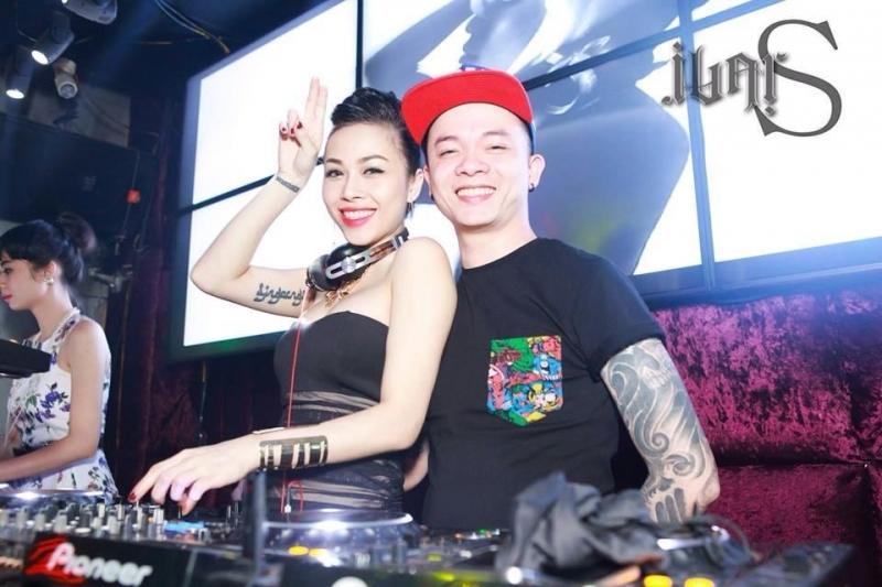 DJ Tommy và vợ là DJ Ngọc Ngà