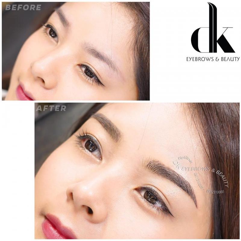 DK eyebrows beauty