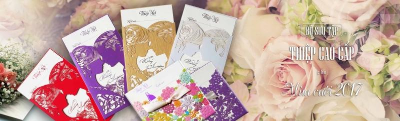 Bộ sưu tập thiệp cưới 2017 tại DK Printing - In Ấn Hải Phòng