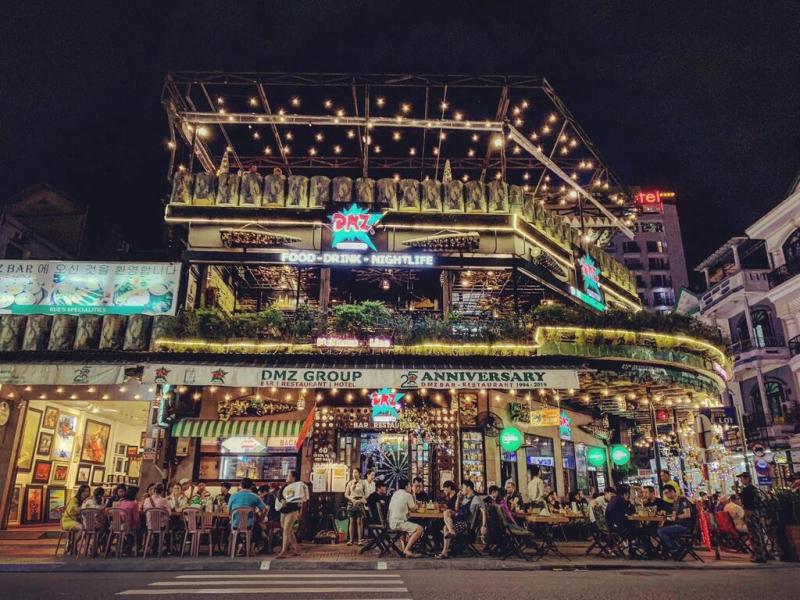 DMZ Bar – lời gào thét của những chiến binh