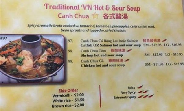 Muốn ăn món Việt, bạn phải đi xa và trả nhiều tiền hơn