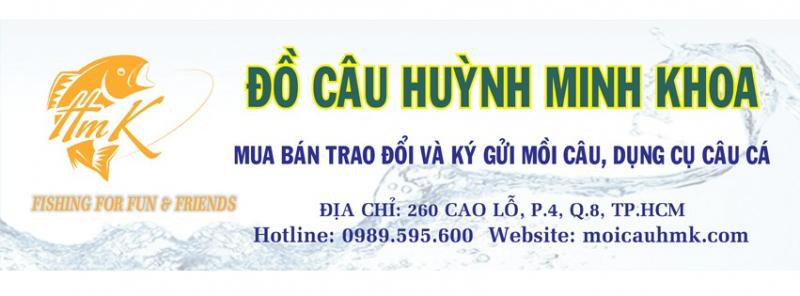 Đồ câu cá Huỳnh Minh Khoa