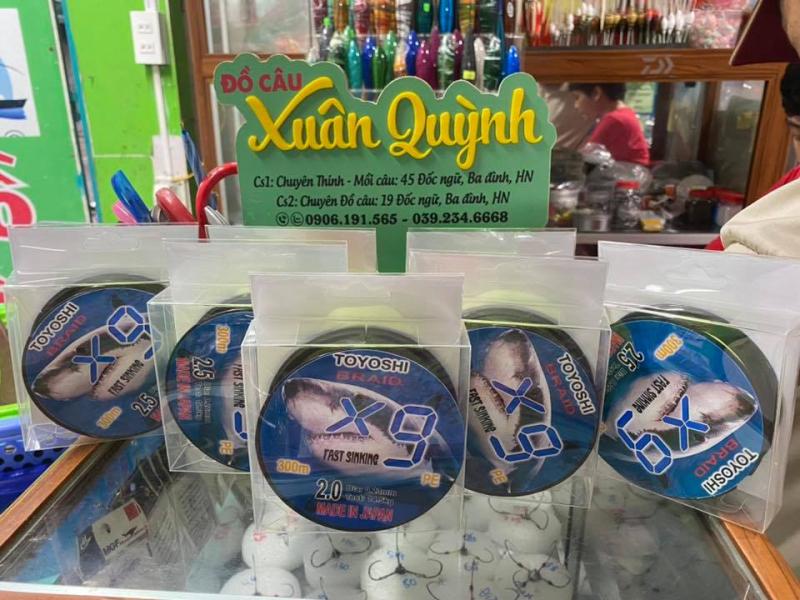 Cửa hàng đồ câu cá Xuân Quỳnh