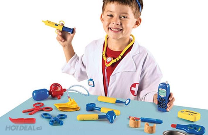 Những bộ đồ chơi như thế này giúp bé vừa chơi vừa học