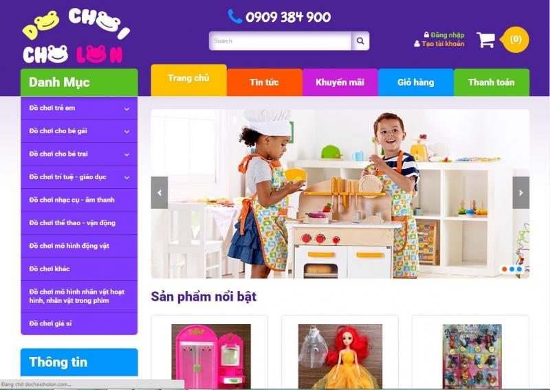 Mức giá được niêm yết rõ ràng kèm theo hình ảnh sẽ giúp bạn hoàn toàn yên tâm khi chọn mua đồ chơi cho bé tại đây.