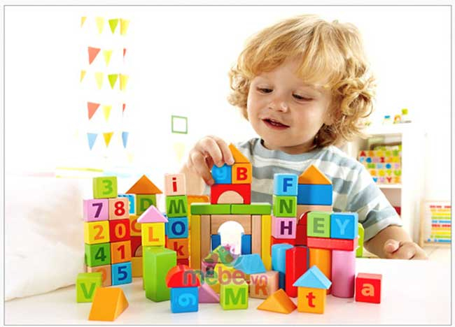 Đồ chơi hình khối xây dựng