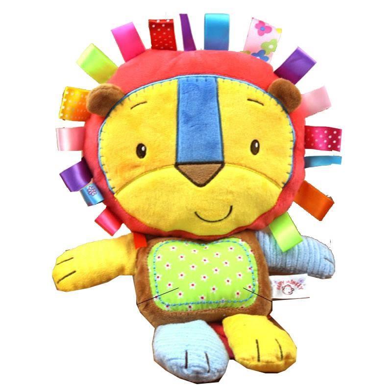 Đồ chơi an toàn cho trẻ - đồ chơi mềm, màu sắc tươi sáng
