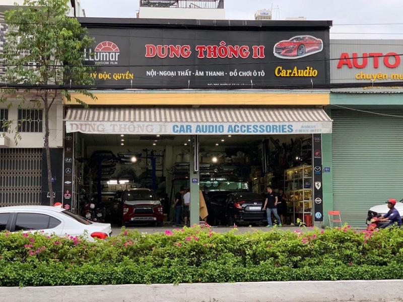 Dung Thông 2 – cửa hàng phụ kiện ô tô ở Nha Trang tốt, uy tín