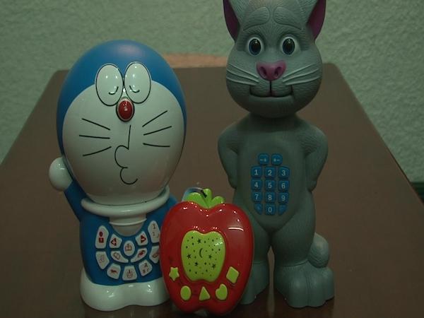 Bên trong những món đồ chơi này được thu âm những câu chuyện phản cảm