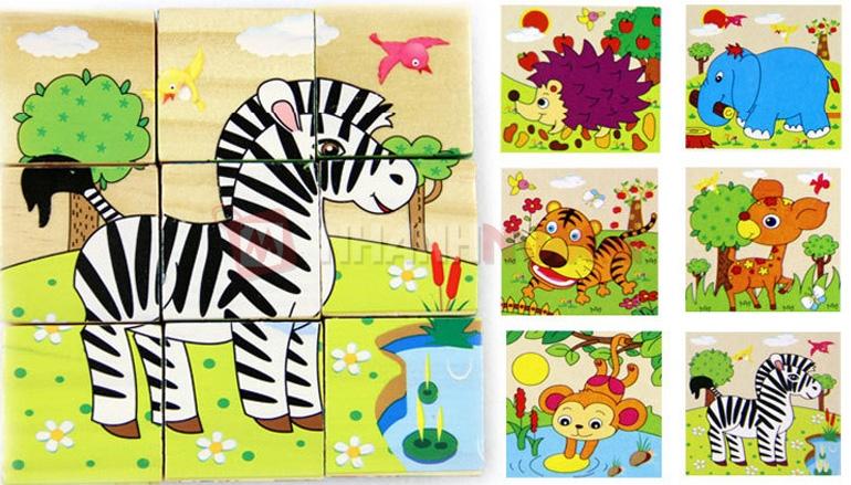 Đồ chơi xếp tranh giúp tăng cường trí nhớ cho trẻ và phát triển kĩ năng nhận dạng hình ảnh