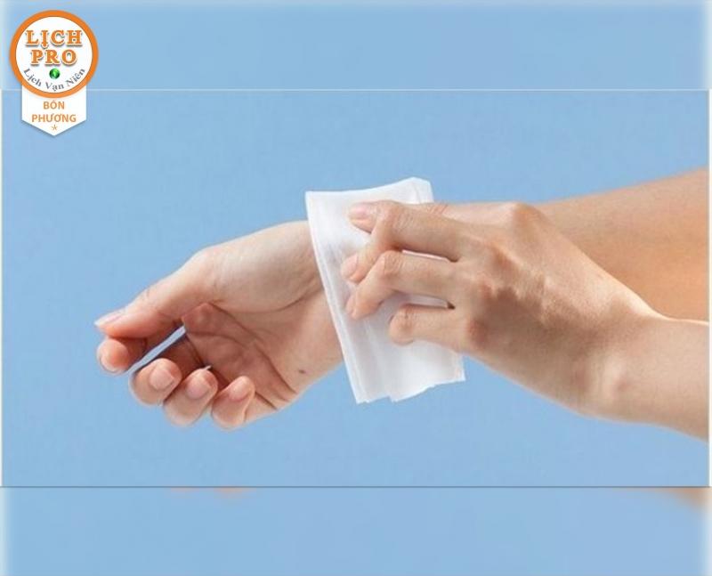 Khăn giấy, khăn tay, khăn tắm