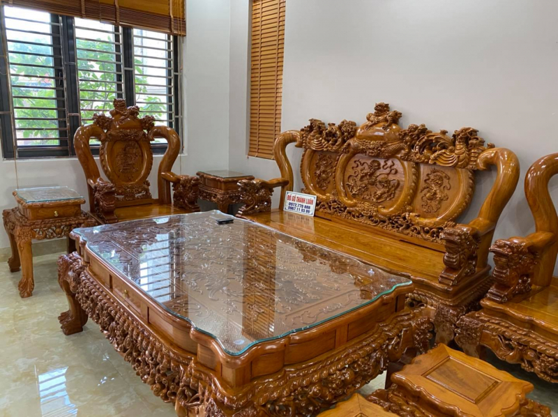 Đồ gỗ mỹ nghệ cổ truyền Thành Luân