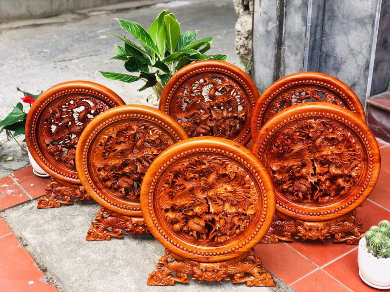 Đồ gỗ phong thuỷ Đông Giao