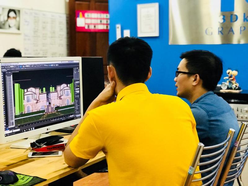 Đồ họa 3DKID - trung tâm đào tạo 3Dmax-Vray