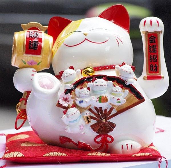 Một chú mèo Maneki Neko