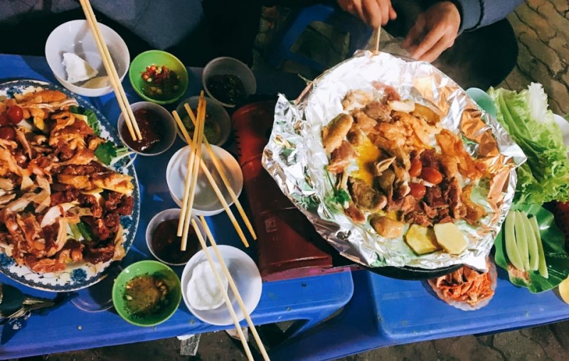 Đồ Nướng BBQ Cam - Lẩu Hà Lâm 348 xã đàn