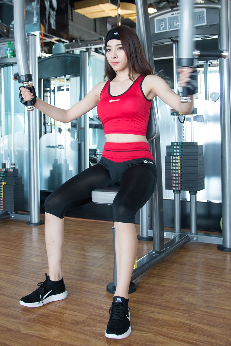 Một bộ đồ tập gym chính hãng dành cho nữ.
