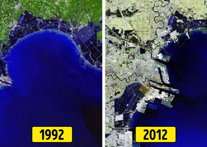 Tốc độ đô thị hóa kinh khủng