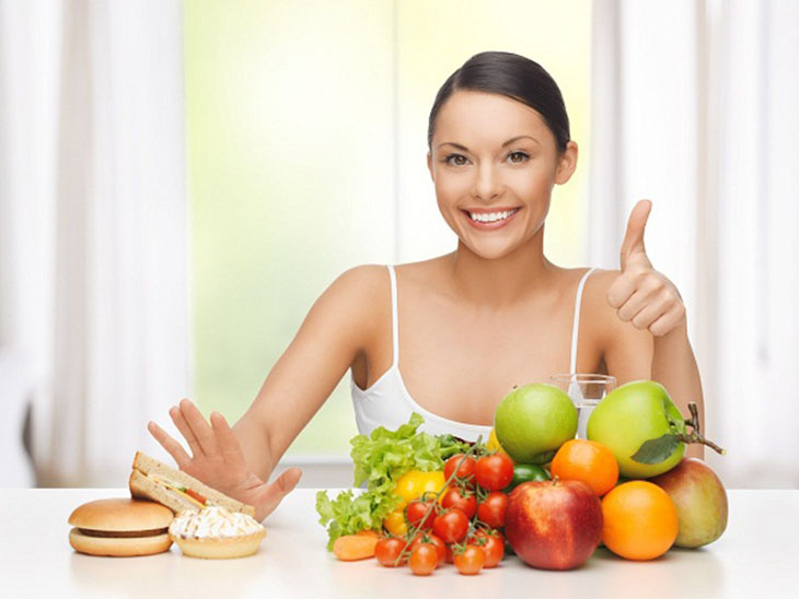 Nám da do chế độ dinh dưỡng