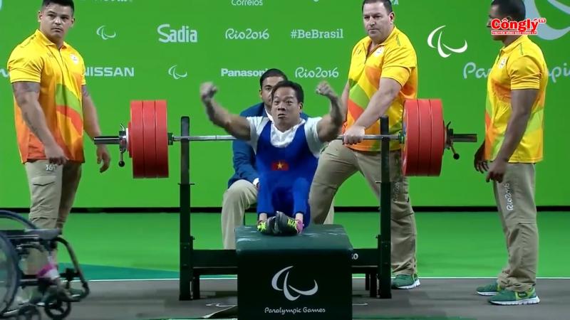 Chiến thắng lịch sử của Lê Văn Công và đoàn thể thao người khuyết tật Việt Nam.