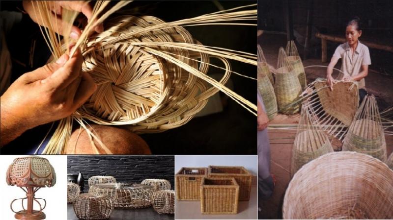 Sản phẩm được tạo ra từ những đôi bàn tay khéo léo