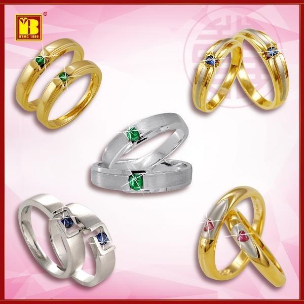 Một số mẫu nhẫn cưới của BTMC có tại Mai Xuân